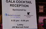 Gala Reception:Wednesday